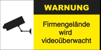 Firmengelände wird videoüberwacht
