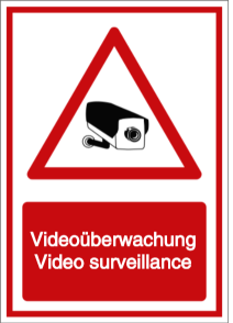 Videoüberwachung - Video surveillance (DE/ENG)