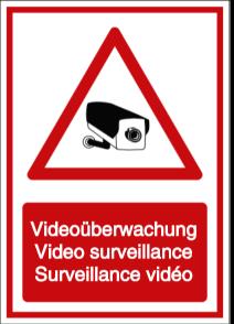 Videoüberwachung - Video surveillance - Surveillance vidéo (DE/ENG/FR)
