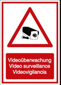 Videoüberwachung - Video surveillance - Videovigilancia (DE/ENG/ESP)