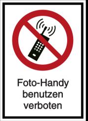 Foto-Handy benutzen verboten