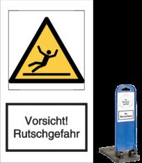 Vorsicht! Rutschgefahr
