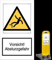 Vorsicht! Absturzgefahr
