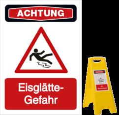 Eisglätte-Gefahr