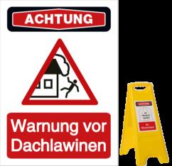 Warnung vor Dachlawinen