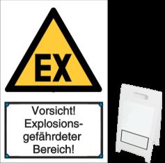 Vorsicht! Explosionsgefährdeter Bereich!