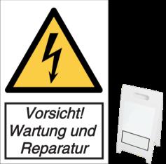 Vorsicht! Wartung und Reparatur