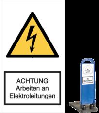 ACHTUNG Arbeiten an Elektroarbeiten