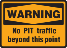 Custom Warning Sign