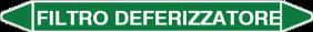 Etichette per tubazioni CLP personalizzate